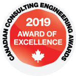 Canadian Consulting Engineering Awards 2019 Award of Excellence